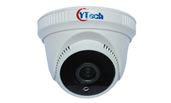 50M IR 5.0M Pixel HD-AHD Dome CCTV Camera with Audio