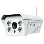 80M IR 1.3M Pixels HD Wireless Wifi Outdoor Waterproof IP Camera