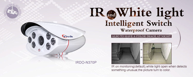 IR and White Light Intelligent Switch Camera